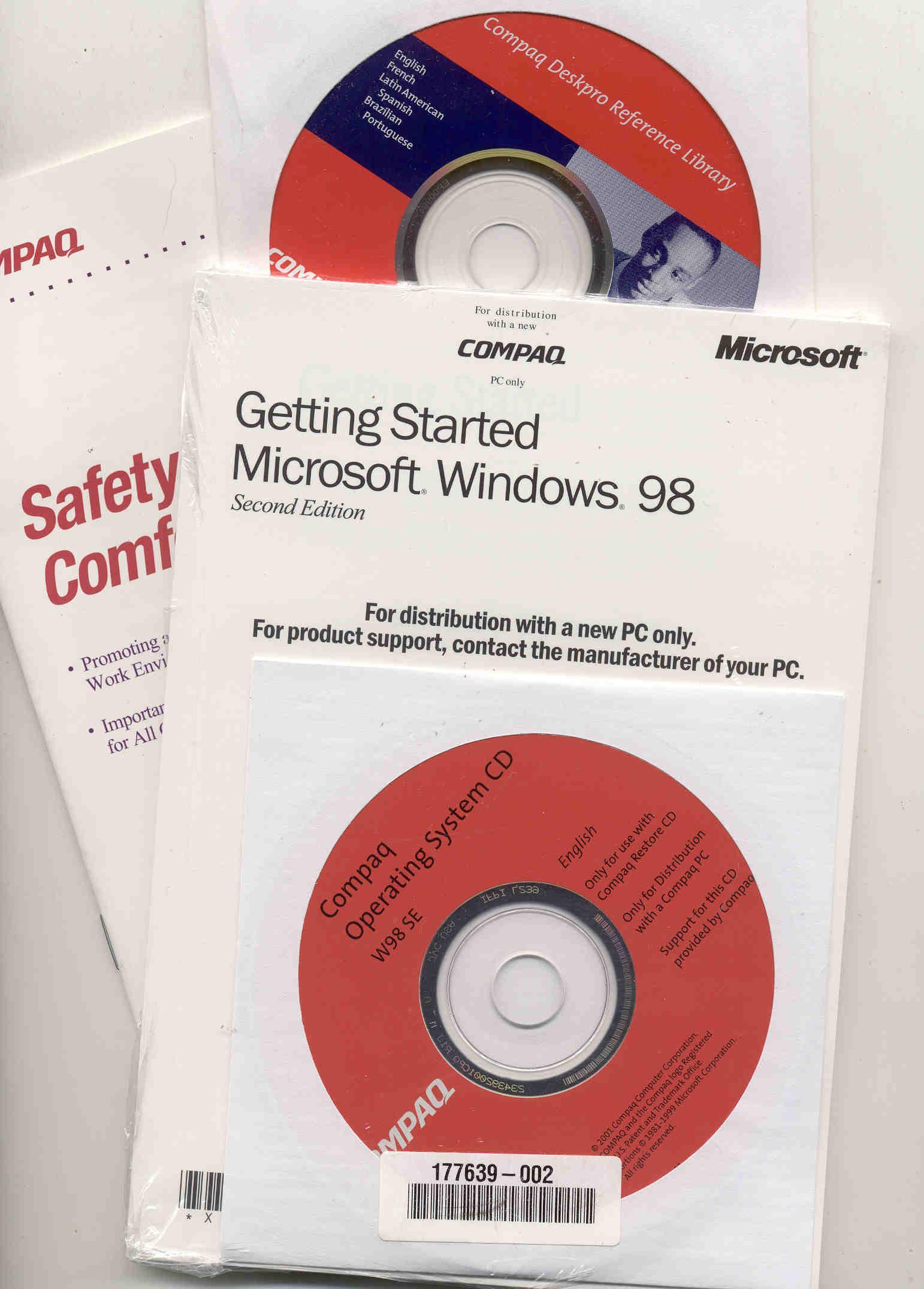 windows 98 second edition cd - photos of an ear