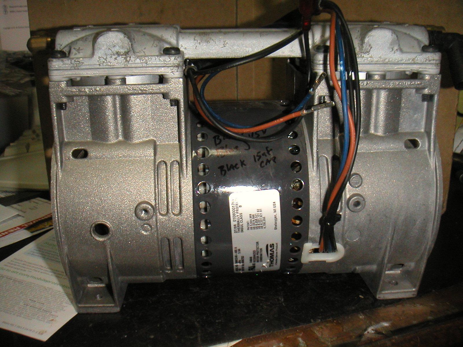 Vacuum Pumps Gast Wiring Diagram