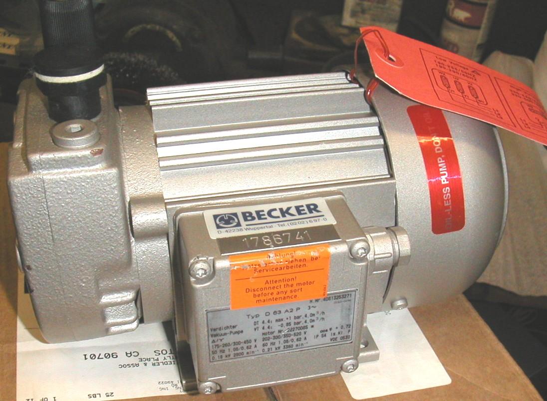 Vacuum Pumps Gast Motor Wiring Diagram Click To Enlarge